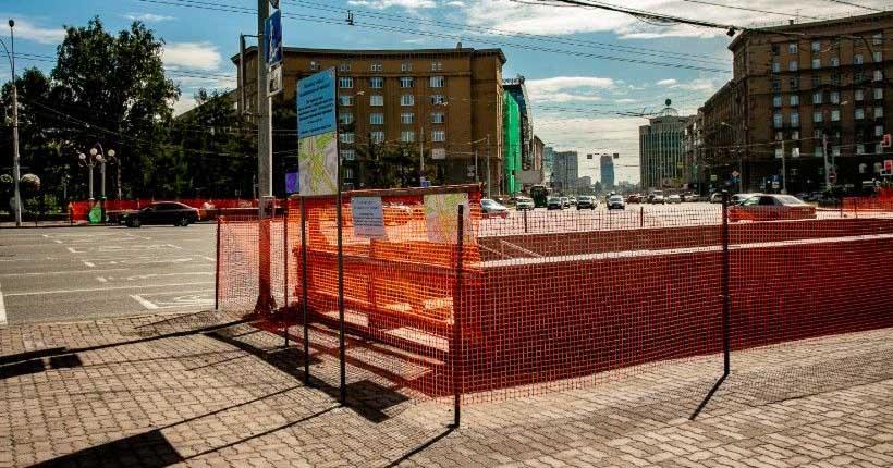 Отреставрированный подземный переход на Красном проспекте открыли в Новосибирске