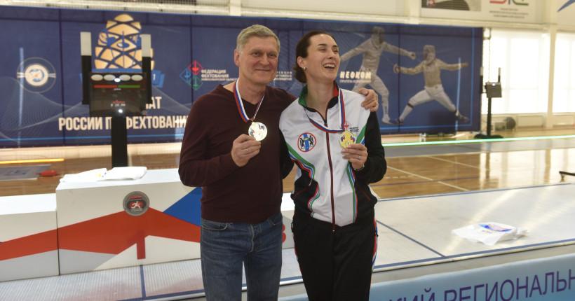 Новосибирская шпажистка стала чемпионкой России в родном городе