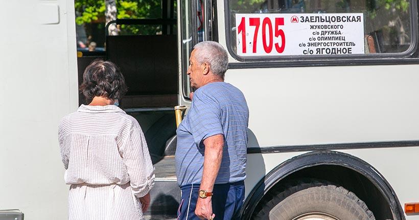 В Новосибирске начинают ходить дачные автобусы