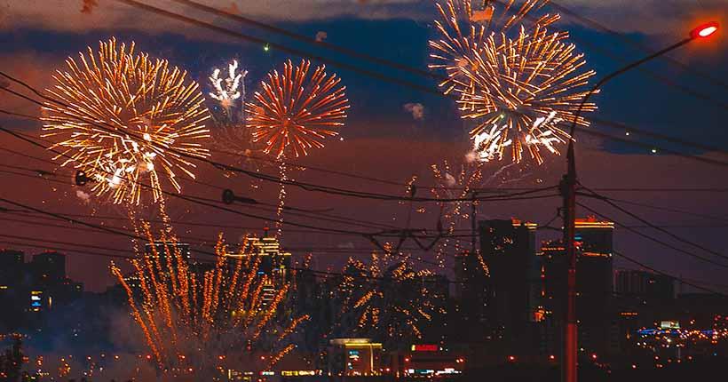 Новосибирцы увидят праздничный салют 9 мая