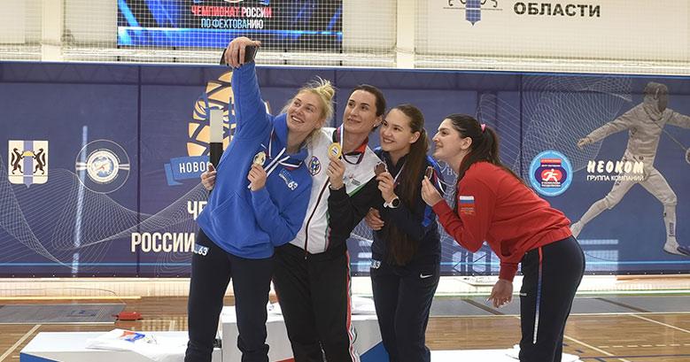 Шесть медалей завоевала Новосибирская область на чемпионате России по фехтованию