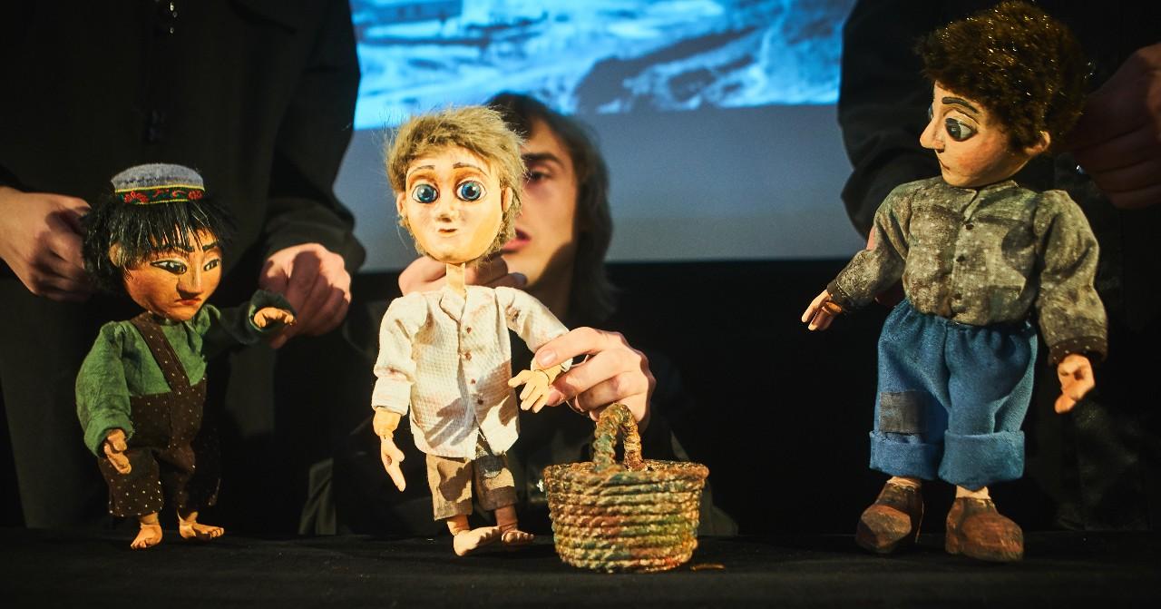 К празднику Победы Новосибирский областной театр кукол подготовил композицию «Дети войны» — показы пройдут и в школах