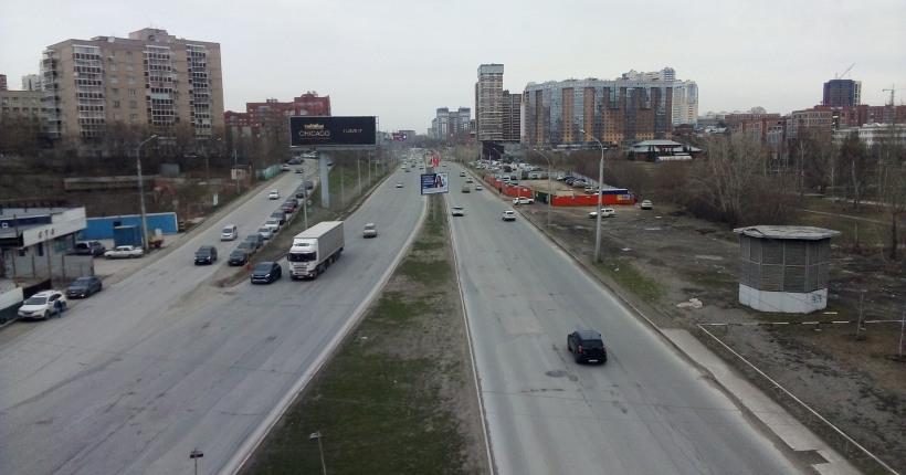 Улицу Ипподромскую в Новосибирске впервые отремонтируют