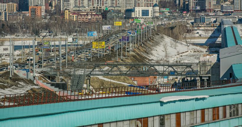 В Новосибирске в 2021 году будет открыт первый объект транспортной инфраструктуры нового ЛДС