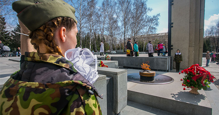 Жителей Новосибирской области пригласили принять участие в акции «Окна Победы»
