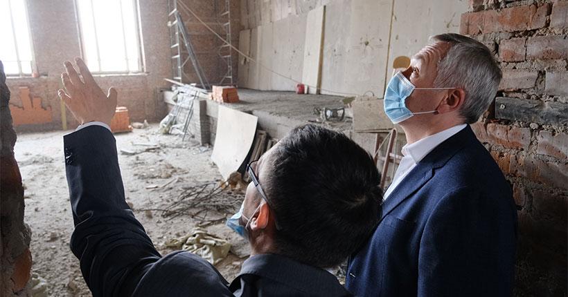 Новосибирскую государственную консерваторию им. М. И. Глинки ожидает масштабный капитальный ремонт