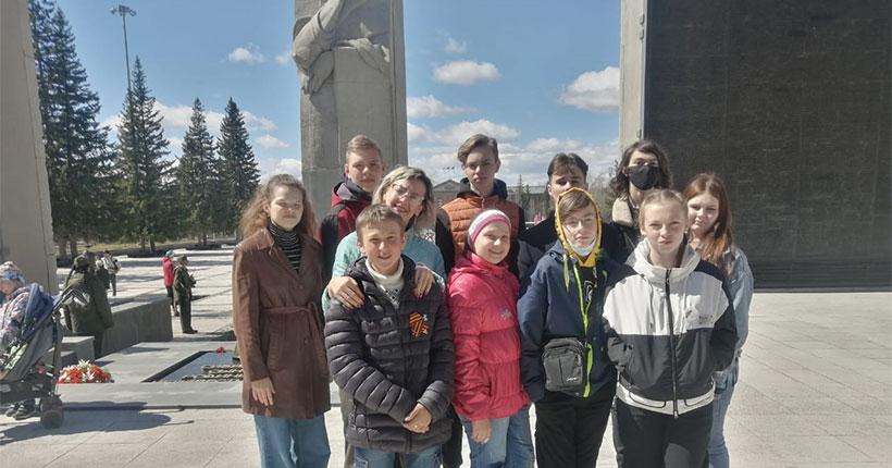 Школьники из Барабинска Новосибирской области смогли посетить  парк «Россия — Моя история» в канун Дня Победы