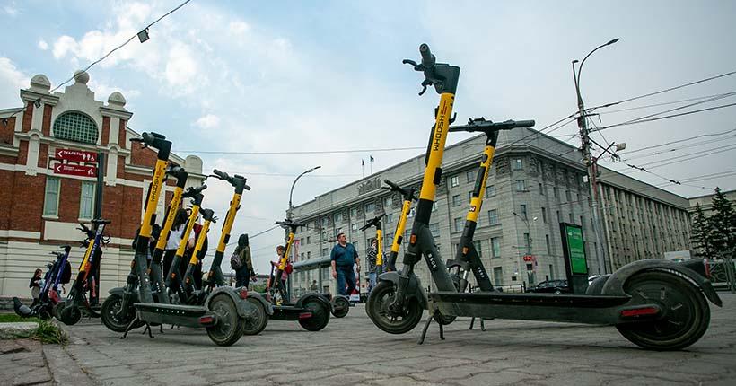 Мэр оценил промежуточные итоги переговоров с прокатчиками электросамокатов в Новосибирске
