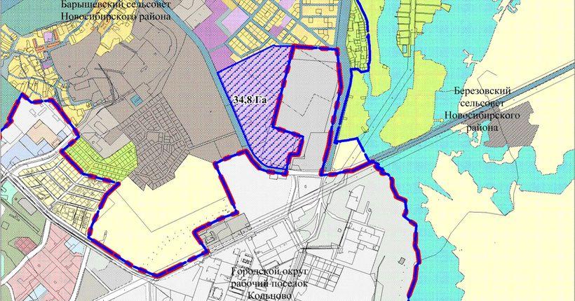 Губернатор предложил увеличить площадь посёлка Кольцово на 35 га