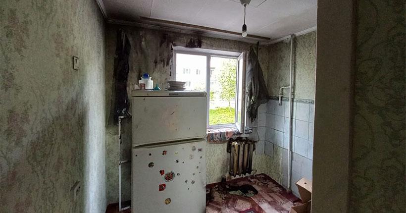 В Новосибирской области детская шалость привела к крупному пожару