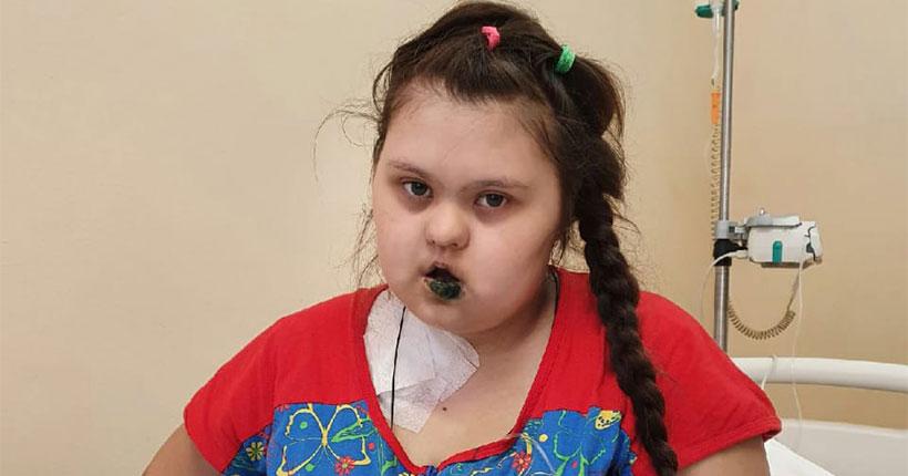 Девочке со страшным диагнозом очень срочно нужна наша помощь!