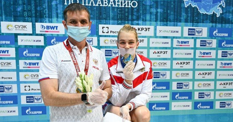 Новосибирская пловчиха завоевала две медали на чемпионате Европы