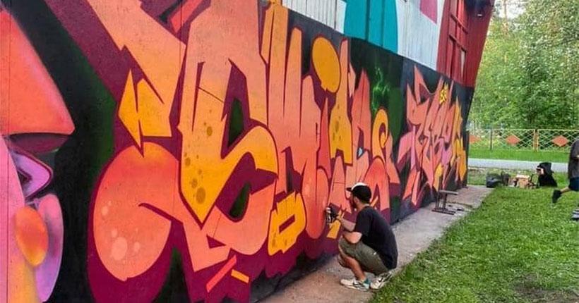 В Новосибирске открыли граффити-сезон в галерее уличного искусства