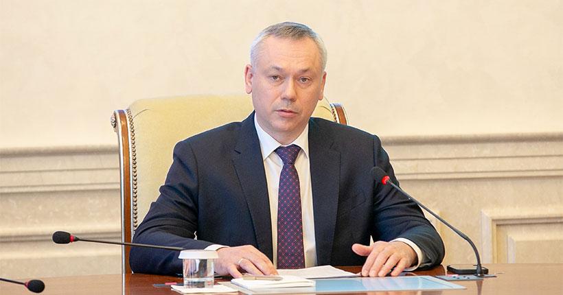 Новосибирский губернатор потребовал сокращения периода отключений горячей воды
