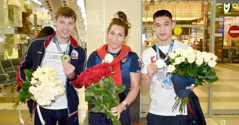 Новосибирские самбисты добились 100-процентного успеха на чемпионате Европы