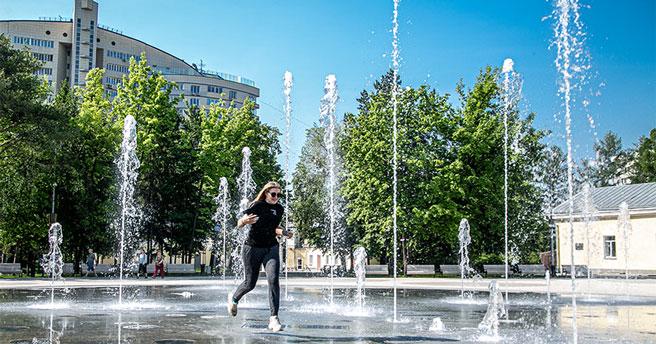 В Новосибирскую область на несколько дней пришла комфортная летняя погода