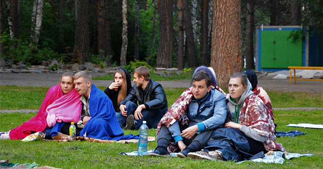 В Новосибирске начинается сезон кино под открытым небом