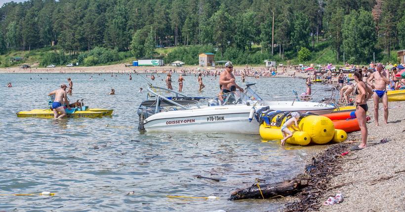 Пляжи в Новосибирской области начнут работу не раньше середины июня