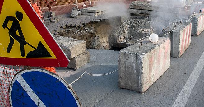 В Новосибирске улицу Ленинградскую закрывают для движения транспорта