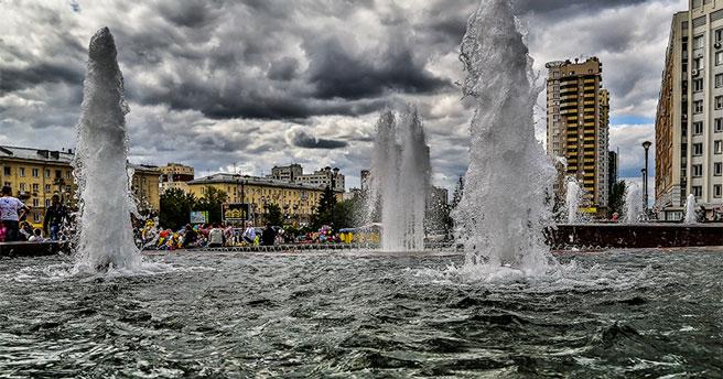 Библиотека у фонтана под открытым небом откроется в Новосибирске