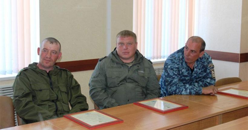 Госинспекторов Новосибирской области наградили спустя почти четыре года после задержания браконьеров