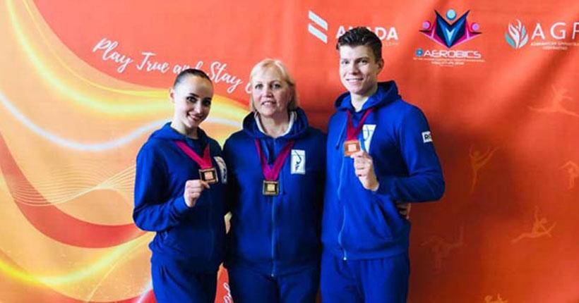 Новосибирцы завоевали золото и бронзу на чемпионате мира по аэробике