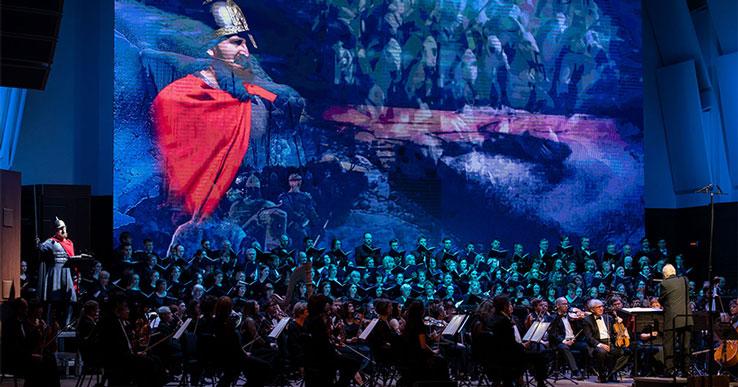 Большой концерт симфонического оркестра  и хора пройдёт под открытым небом у храма в Новосибирске