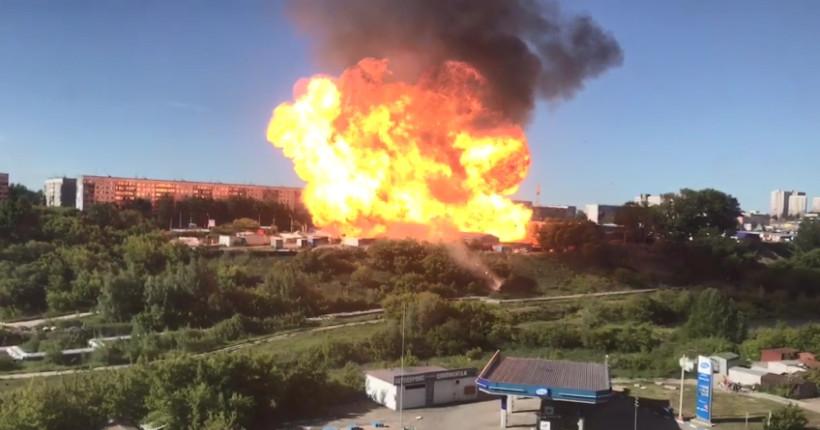 В Новосибирской области проверят все заправки после взрыва на Гусинобродском шоссе