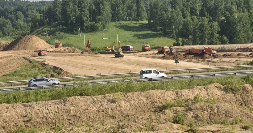 Возобновилось строительство Восточного обхода Новосибирска