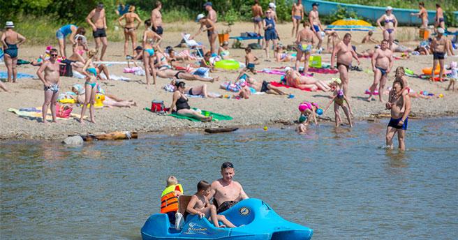 В Новосибирске в ближайшие дни официально откроют ещё один пляж