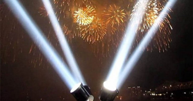 В ночь с 21 на 22 июня небо над Новосибирском подсветят яркие лучи