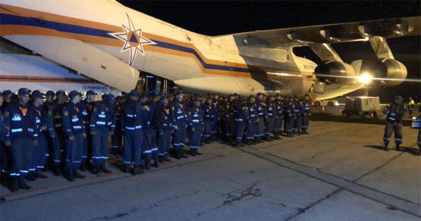 В Амурскую область срочно брошены силы новосибирских спасателей