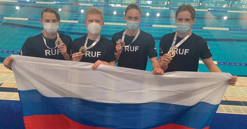Юный новосибирский пловец-подводник стал чемпионом мира