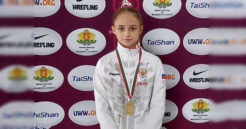 Миллена Виноградова из Новосибирска взяла золото Европы