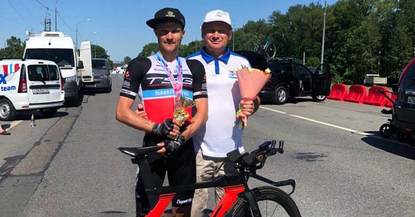 В этот раз серебро: новосибирский велогонщик стал призёром чемпионата России