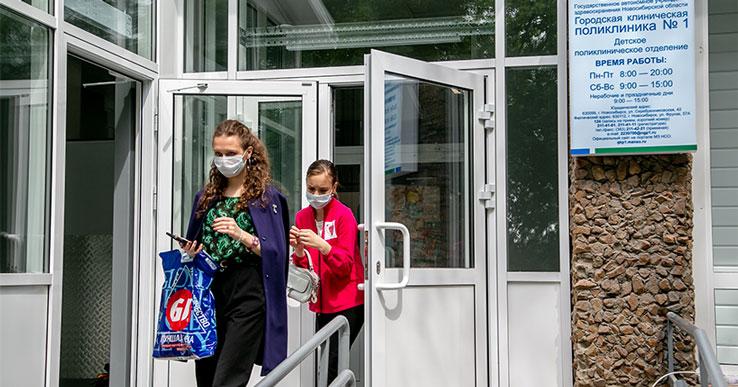Студенты-медики выходят на борьбу с короновирусом в Новосибирской области