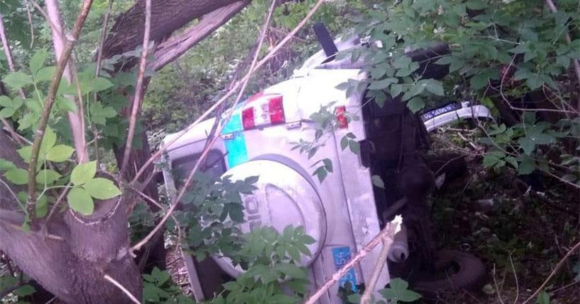 Следователи проводят проверку по факту гибели инспектора ДПС во время погони под Новосибирском
