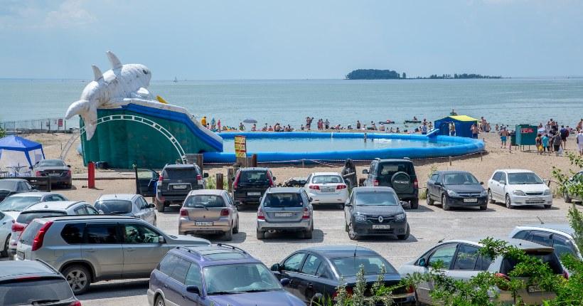 Два пляжа на Новосибирском водохранилище закрыли из-за коммунальной аварии