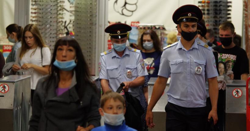Новосибирские полицейские поучаствуют в «охоте» на антимасочников