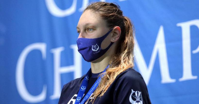 Новосибирская пловчиха в ластах снова стала чемпионкой мира