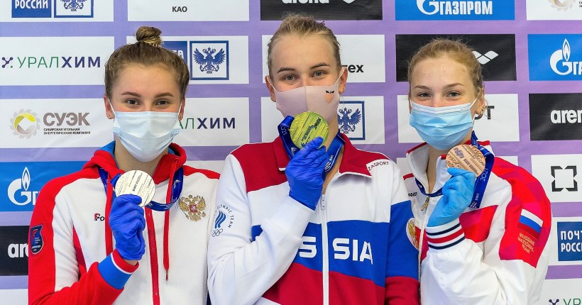 Новосибирская пловчиха хорошо размялась перед Олимпиадой