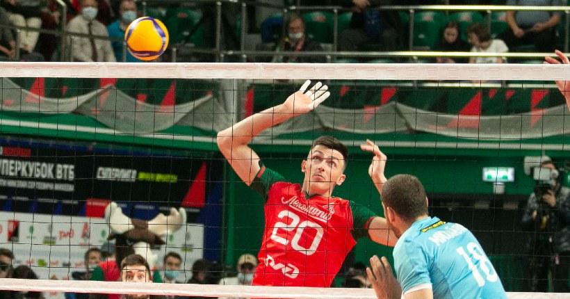 Волейболист «Локомотива» из Новосибирска попал в состав олимпийской сборной России