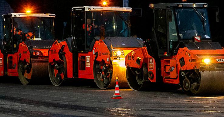Северный выезд из Новосибирска закончат ремонтировать в 2022 году