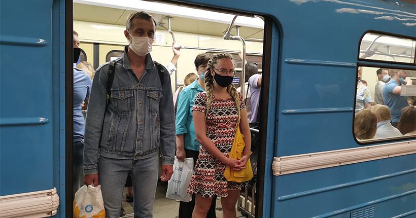 В Новосибирске усилили контроль над соблюдением масочного режима в метрополитене