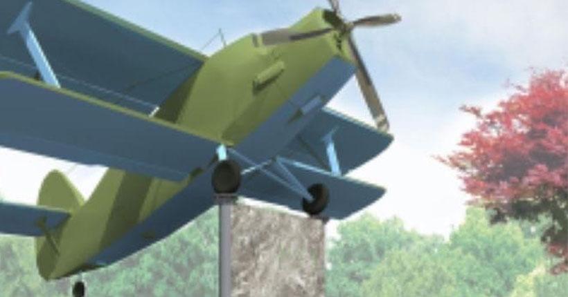 У новосибирцев попросили совета по установке самолёта «Ан-2» в одном из скверов города