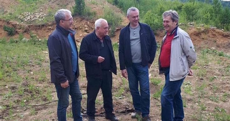 Губернатор Новосибирской области побывал в Денисовой пещере