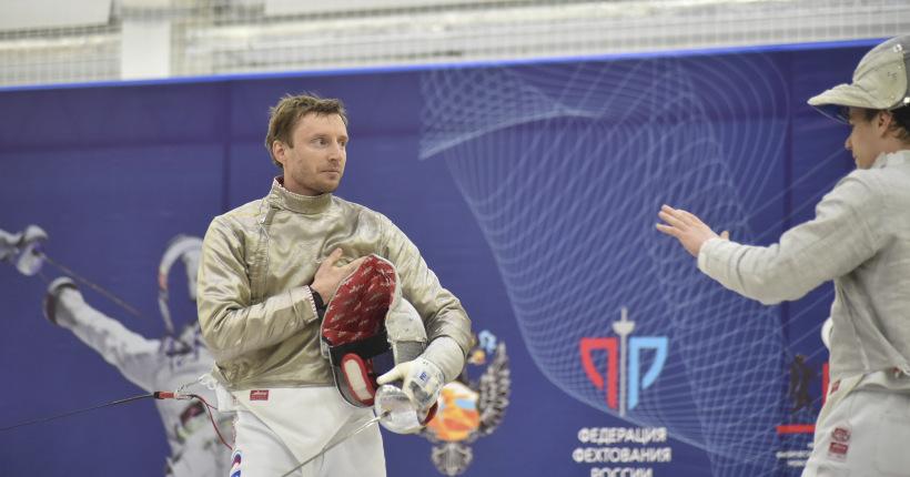 Новосибирский саблист Вениамин Решетников первым стартует на Олимпийских играх
