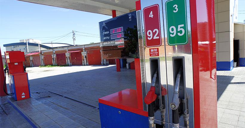 В Новосибирской области выросли цены на бензин