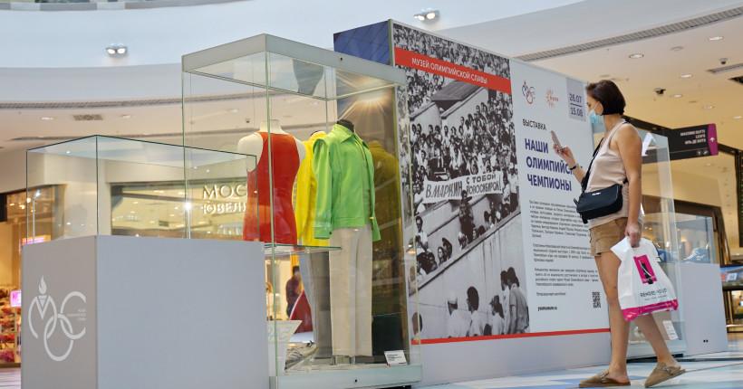 В новосибирском торговом центре открылась выставка, посвящённая нашим олимпийцам