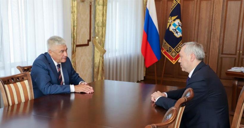 Глава МВД России оценил оперативную обстановку в Новосибирской области